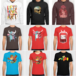Hoodies and Colored Tees at Society6!